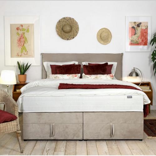 Łóżko kontynentalne – kiedy warto wybrać je do sypialni?